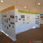 Ausstellungswände zu 800 Jahre Luckenwalde