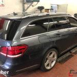 Mercedes E350 CDI Scheibenfolierung nachher