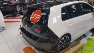 car wrapping golf