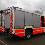 Vollfolierung eines Einsatzfahrzeugs der Feuerwehr Düsseldorf