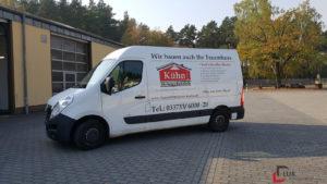 Bauunternehmen Kühn Transporter