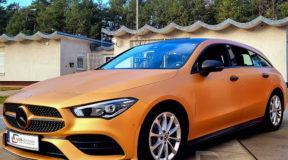 Car Wrapping am Mercedes CLA 220 D: Hochwertig, Edel, Sicher