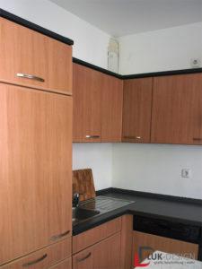 Küche Cocooning vorher