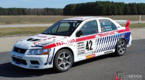 Rallye-Klassiker: Mitsubishi Lancer Evolution VII