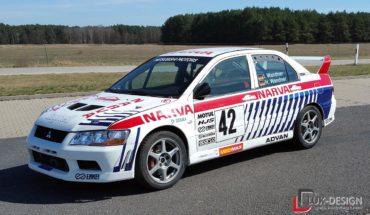 Mitsubishi Lancer Evolution VII Seite