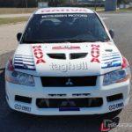 Mitsubishi Lancer Evolution VII Front