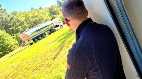 Tankwagen Beschriftung