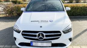 Fahrzeugfolierung und Schaufenster für SIGNAL IDUNA in Königs Wusterhausen