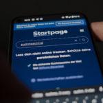 startpage als Beispiel auf einem Google Pixel Smartphone