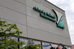 Fassade des Unternehmens Richard Grießbach Luckenwalde
