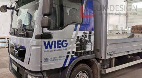 Autobeschriftung WIEG Sondermaschinenbau GmbH