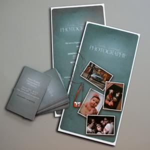 Flyer und Visitenkarten Marlen Westphal Photographie