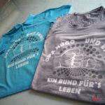 T-Shirtdruck Opa Hugo und Enno: Ein Bund für's Leben